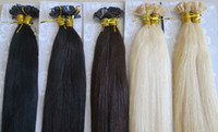 Indian Hair Ombre Color Straight Retail 1g*200s 14-30'' Keratin Flat Tip Very Soft 100% Indian Remy Human Hair Extensions Blonde Fucsia Ombre Purple 99j Straight TOP QUALITY