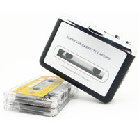 Wholesale Brand New Useful Tape To PC Super USB Cassette To MP3 Converter Capture Silver Free Swiss Post