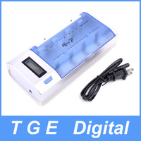 aa quick charger - Good GD A LCD Multifunctional Digital Universal Quick Charger for Rechargeable Battery D C AA AAA V