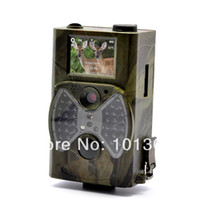 animals hunting videos - Hot sale MP NM Black LED Video Audio weather proof wild forest animals deer hunting trail camera