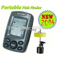 Wholesale NEW M Portable Sonar Sensor Fish Finder Fishfinder LCD Transducer