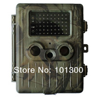 Yes Yes No Free Shipping 12MP deer hunting camera 940NM black IR infrared trail Camera with 2000mAh rechargeable battery