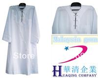 Wholesale 2014 new style hot selling islamic clothing abaya Malaysia youth robe Muslim dress cheap price good quality