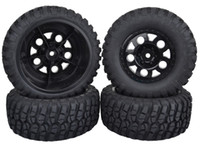 Cars other other SET 109mm Traxxas RC 1 10 Off-Road Rally Short Course Truck Car Rubber Tyres Tires & Wheel rim hub 12MM hex