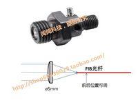 Wholesale Quartz fiber optic collimating lens focusing mirror SMA905 fiber optic collimators coupling lens UV