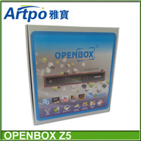 Wholesale Original Openbox X5 update modle openbox z5 p Full HD Satellite Receiver support Wifi youtube gmail google chinese language