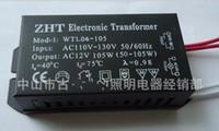 Wholesale V V AC W Halogen Crystal Light Lamp Power Supply Electronic Transformer