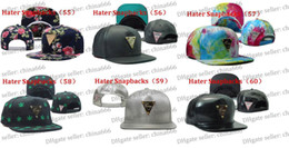 Wholesale HOT SELLING Hater snapback hats online review hater snap back caps Hater Snapbacks Headwear Hats hat