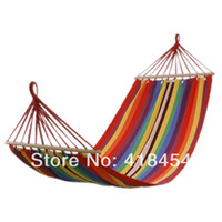 Wholesale 75 quot x quot Quilted Fabric Double Spreader Bar Outdoor Camping Travel Hammock