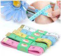 Wholesale Measuring tape measure measurements cartoon clothes soft feet foot tape measure color random