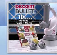 Cheap 6Set Magic Bullet Dessert Bullet 200W Fruit Healthy Ice Cream Machine Icecream Maker Electric Kitchen Tools Frosty Treats in 10 Seconds
