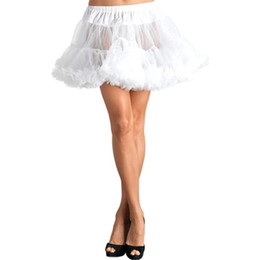 Wholesale Pictures Make To Order Different Colors Simple Cheap Net Mini Petticoat