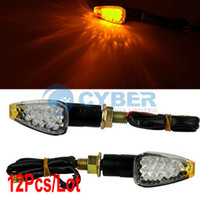 Wholesale Cheap Hot Sale LED Motorbike Motorcycle Motor Corner Turn Signals Light Lamp Bulb Indicator Amber Yellow TK0125