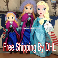 Wholesale 2014 Minion Years Years Unisex Frozen Doll Plush Toys Anna Elsa Boneco cm Dolls Pelucia