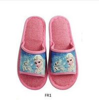 Wholesale 2014 new Frozen Children Kids men women bedroom Slipper frozenC36
