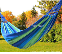 Cheap single hammock camping survival hammock canvas Patio Swings outdoor or indoor 200*100cm 1pc,free shipping