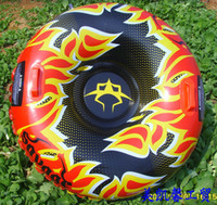 Wholesale 2013 new fashion Inflatable person Flame Snow Tube sledge size CM