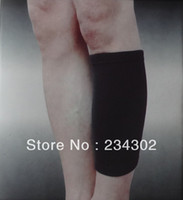 Wholesale MN SIBOTE four way elastic nylon spandex knit calf support shin guard protector