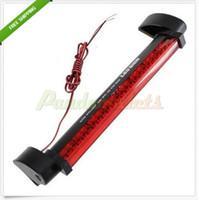 Wholesale New Red LED Vehicle Car Auto Fog Stop Tail Rear Brake Warning Light Lamp V