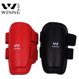 Wholesale MN WESING SD Cuish thigh pad kickboxing protector Muay Thai thigh guard PU leather surface Rubber and plastic molding