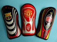 Wholesale MN pairs CM X CM Soccer shin guards football shin pads Each football team dedicated Leggings