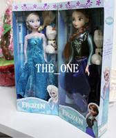 Wholesale frozen figure play set frozen princess inch frozen doll frozen elsa anna olaf Set inch frozen anna elsa joint moveable