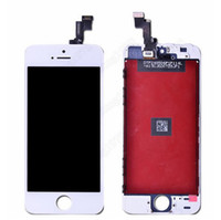 Cheap Top Quality iphone 5S 5C LCD Assembly Glass Recycle Broken Touch Display Panel Digital Touch Screen Converter Replacement White & Black
