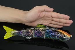 Река рыболовные приманки для продажи-4 части 241 мм 35g Рыбалка Lure Baits Искусственный Ocean речной рыбы приманки приманки