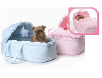 Cheap pet dog products luxury pet bed dog bed. star dream carrier beds OEM according to client's photos 1pc blue+1 pc pink