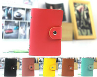 Women banks place - New PU Suede brief gentlewomen leather hasp place card bank card holder OFF for second item