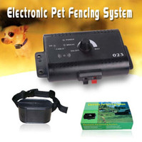 Wholesale Underground Electric Small Dog Pet Fencing System Shock Collar Pet Fencing System customized logo printing on case packaging from goodmemory