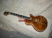 Wholesale New Arrival brown Supreme Electric Guitar Ebony fingerboard Guitars