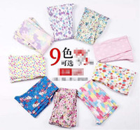 Wholesale EMS DHL Free Cute Big Children cm Cotton Girls Pocket Print Leggings Tights Pencil Pant Colors Girl Cloth K0335