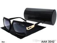 popular sunglasses - the most popular black Brand Germany Cazal Sunglasses fashion Unisex Acetate big size sunglasses brand original box cz