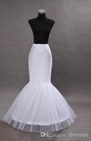 Wholesale mermaid petticoat slip a wedding ring bone elastic lining trumpet