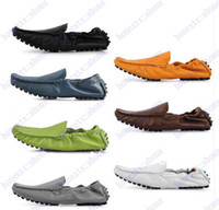 Cheap Hot Sale spring autumn new fashion mens gommini loafers genuine