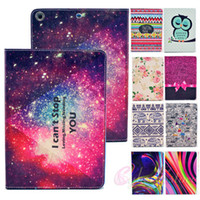 Wholesale For ipad air Case Fashion Smart Flip PU Stand Wallet Keep Calm Owl Bird Stripe Book Style Leather Case Cover Stand Holder for iPad air