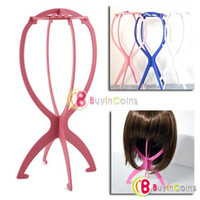 Wholesale Plastic Stable Durable Wig Hair Hat Cap Holder Stand Display Tool