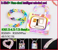 Free DHL R- SIM 9 + RSIM9+ r sim 9plus RSIM9+ RSIM9plus nano-...