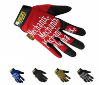 racing wear - Mechanix Wear Sof Navy Seals Devgru Gloves F1 Gloves Racing Gloves Moto Glove Shooting Bike motorcycle Military New Arrival Colors
