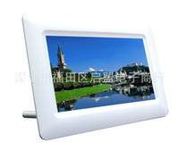 Cheap 7 inch digital photo frame picture playback advertising products gifts wedding gifts