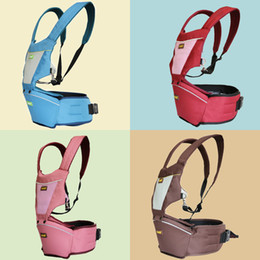 Wholesale 2015 SGS fashion high quality unisex smart baby hugger carrier hip seat suit in upgrade baby safety gear waist suspenders slings carrier
