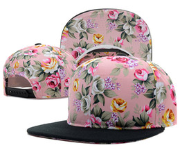 New snapback hats snap back caps Floral Blank Snapback
