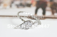 Cheap 10 PCS lot- Free shipping! 10pcs lot New angel wing knuckle ring,midi ring,korea rings,cz ring
