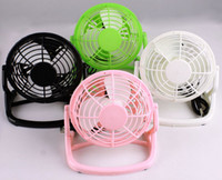 Wholesale USB Mini Fan Portable PC Notebook Laptop Mini Desk Table USB Powered Cooler Cooling Fan Plastic Colorful