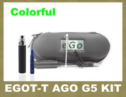 Wholesale 2014 Ego t electronic cigarette ago g5 dry herb vaporizer pen review design ego t battery ZA0001