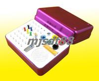 Cheap 35 Holes Dental Bur Holder Autoclave Sterilizer Case For Endo Files Gutta Percha Points Purple