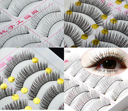 Wholesale Makeup Beauty Brand New Pair Style Long False Eyelashes Eyelash Eye Lashes Fashion JC05003 JC05005 M