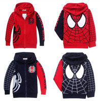 Coat winter coats - Hot Sale Spiderman Coats For Children Clothes New Winter Children s Coat Boys Hoodie Jackets Kids Cartoon Baby Outerwears Clotes J0882