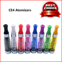 Wholesale Colorful CE4 Atomizer Electronic Cigarette Ecigs EGO CE4 Atomizers Tank Vapor Clearomizer ml For ecig Ego T Ego W Thread Flydream